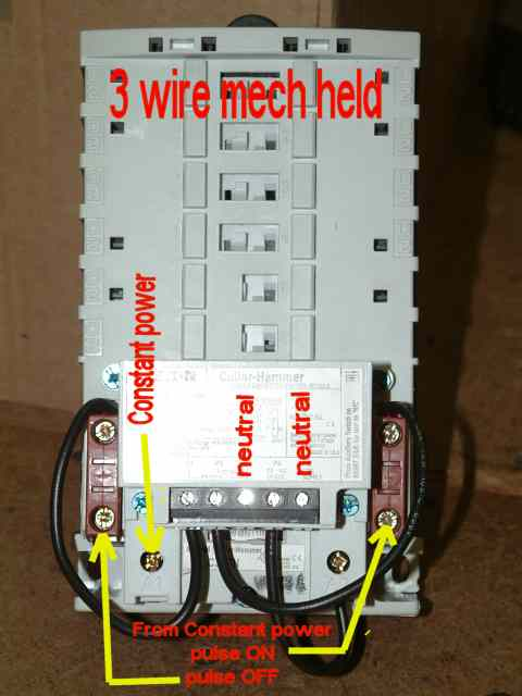 3 wire mech held faq emsco, motor control shop, motor starter faq electrically held contactor wiring diagram at reclaimingppi.co