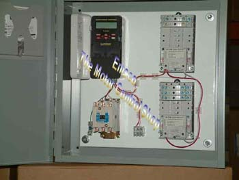 Small Lighting Control Panel With Time Clock